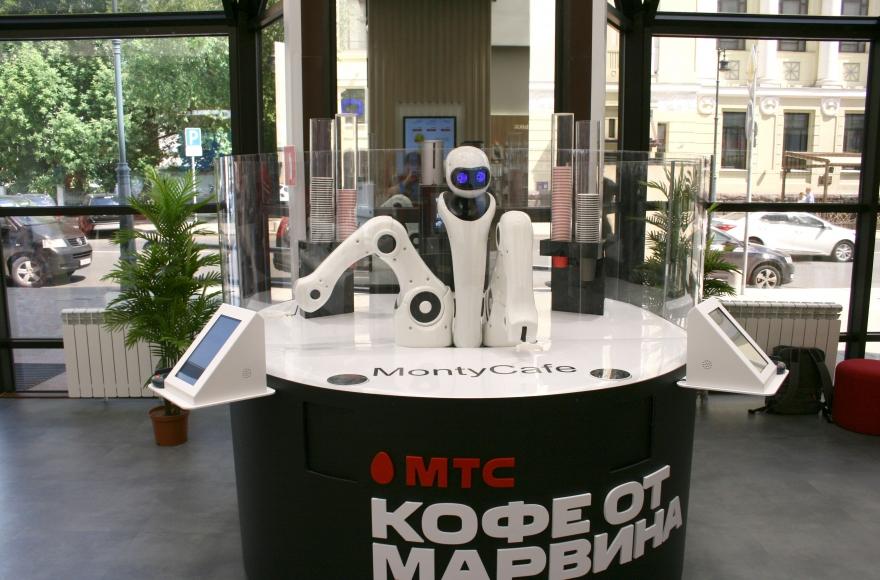 МТС запускает шоурум с робокофейней и цифровыми витринами