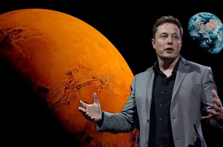 Илон Маск марсианская программа